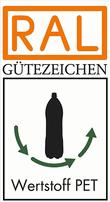 Label-Info: RAL Gütezeichen Wertstoff PET-Getränkeverpackungen