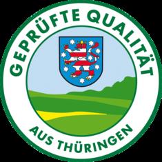 Label-Info: Geprüfte Qualität aus Thüringen