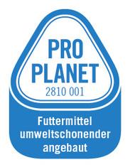 Label-Info: PRO PLANET Joghurt Futtermittel umweltschonend angebaut