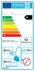 Label-Info: EU-Energielabel Staubsauger