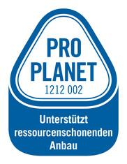 Label-Info: PRO PLANET Möhren, Eisbergsalat Unterstützt ressourcenschonenden Anbau