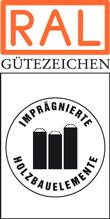 Label-Info: RAL Gütezeichen Imprägnierte Holzbauelemente