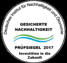 Label-Info: Gesicherte Nachhaltigkeit Prüfsiegel (di-no.eu)