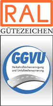 Label-Info: RAL Gütezeichen Verkehrsflächenreinigung und Unfallstellensanierung
