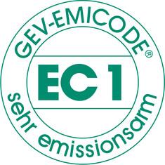 Label-Info: EMICODE EC 1 - sehr emissionsarm