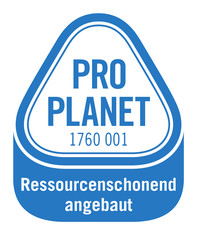 Label-Info: PRO PLANET Tomaten und Paprika aus Deutschland Ressourcenschonend angebaut
