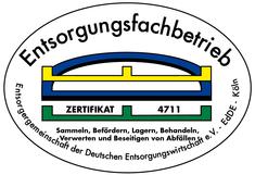 Label-Info: EdDE-Entsorgungsfachbetrieb