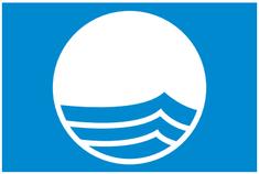 Label-Info: Blaue Flagge Badestellen und Strände