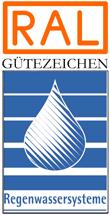 Label-Info: RAL Gütezeichen Regenwassersysteme