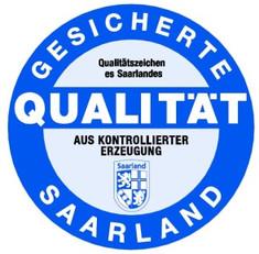 Label-Info: Qualitätszeichen Saarland Gesicherte Qualität mit Herkunftsangabe