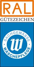 Label-Info: RAL Gütezeichen sachgemäße Wäschepflege