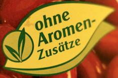 Label-Info: Ohne Aromen-Zusätze