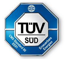 """Label-Info: TÜV SÜD Standard """"Produkt EE01"""""""