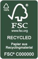 Label-Info: FSC Recycled
