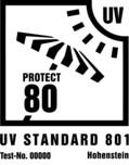 UV Standard 801-Beschattungstextilien