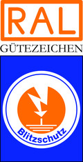 Label-Info: RAL Gütezeichen Blitzschutz