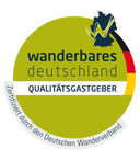 Wanderbares Deutschland-Qualitätsgastgeber