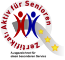 """Zertifikat """"Aktiv-für-Senioren"""""""