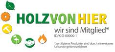 Label-Info: Holz von Hier