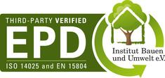 Label-Info: IBU Environmental Product Declaration (EPD)