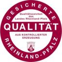 Qualitätszeichen Rheinland-Pfalz-Gesicherte Qualität mit Herkunftsangabe