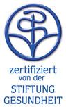 """""""zertifiziert von der Stiftung Gesundheit"""""""