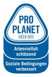 PRO PLANET-Blumen (Fairtrade)-Artenvielfalt schützend Soziale Bedingungen verbessert