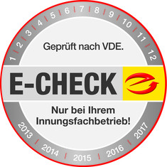 Label-Info: E-Check
