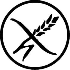 Gluten Free - Glutenfrei symbol for Germany