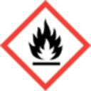 GHS-Kennzeichnung (Gefahrenkennzeichnung)-Flamme - Entzündbares Gas / Aerosol / Flüssigkeit-GHS 02