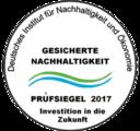 Gesicherte Nachhaltigkeit-Prüfsiegel (di-no.eu)