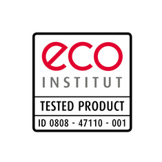 Label-Info: eco-INSTITUT-Label Bettwaren