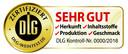 """DLG-Zertifikat für Wein-""""SEHR GUT"""""""
