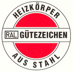 Label-Info: RAL Gütezeichen Heizkörper aus Stahl