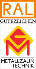 Label-Info: RAL Gütezeichen Metallzauntechnik