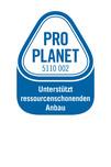 PRO PLANET-Tee-Unterstützt ressourcenschonenden Anbau