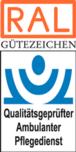 RAL Gütezeichen Qualitätsgeprüfter Ambulanter Pflegedienst