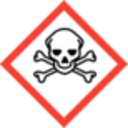 GHS-Kennzeichnung (Gefahrenkennzeichnung)-Totenkopf - Akute Toxizität-GHS 06
