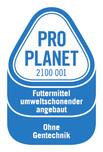 PRO PLANET-Milch und Sahne-Futtermittel umweltschonend angebaut Ohne Gentechnik