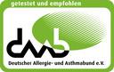 Getestet und empfohlen vom Deutschen Allergie- und Asthmabund e. V.