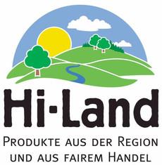 Label-Info: Hi-Land Produkte aus der Region und aus dem fairen Handel