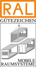 Label-Info: RAL Gütezeichen Mobile Raumsysteme