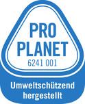 PRO PLANET-Textilien-Umweltschützend hergestellt