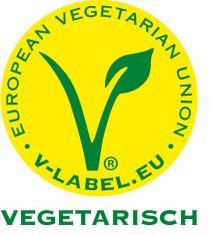 Label-Info: Europäisches V-Label Vegetarisch
