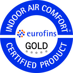 Label-Info: Indoor Air Comfort Gold