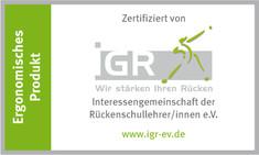 Label-Info: ergonomisches Produkt