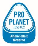 PRO PLANET-Weintrauben-Artenvielfalt fördernd