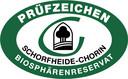 Prüfzeichen des Biosphärenreservates Schorfheide-Chorin