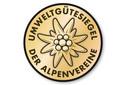 Umweltgütesiegel Alpenvereinshütten