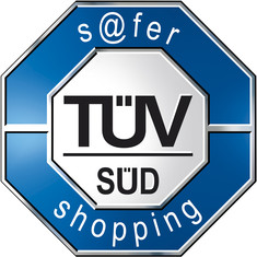Label-Info: TÜV SÜD s@fer-shopping